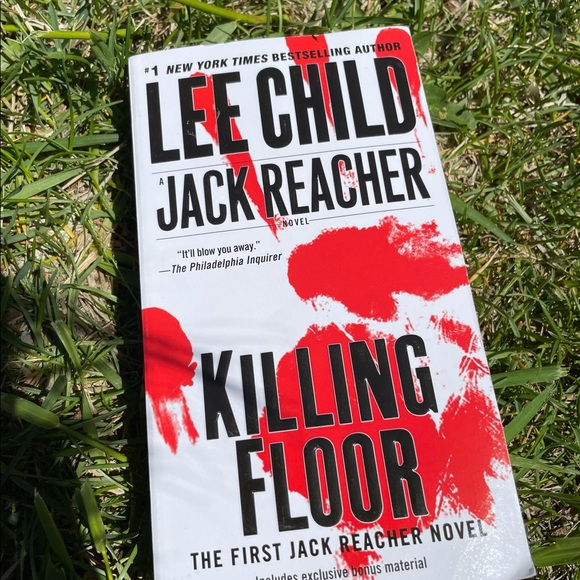 Lee Child- Jack Reacher, Killing Floor Book